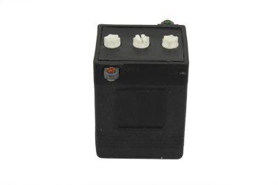 V-Twin 53-0520 Black H-3 6 Volt Battery
