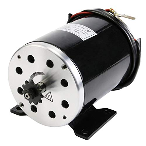 ZXTDR 36V 800W Brush Motor For Electric Go Kart Scooter E Bike Motorized Bicycle ATV Moped Mini Bikes  25H Chain - 11 tooth sprocket