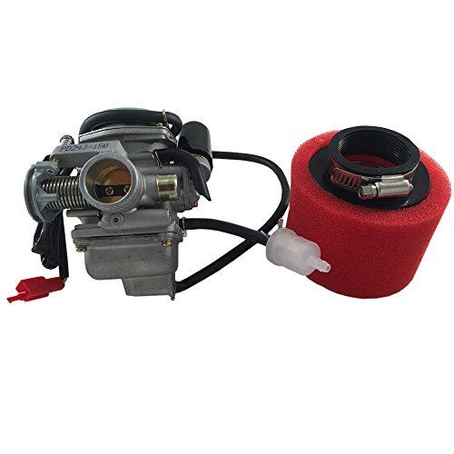 Mx-M PD24 Carburetor wAir Filter for GY6 125cc 150cc ATV Scooter Go Kart