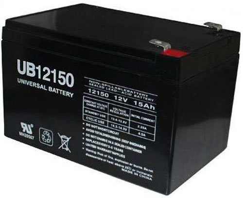 12V 15Ah F2 Scooter Bike Battery Replaces 14Ah Enduring CBE14-12 CBE 14-12