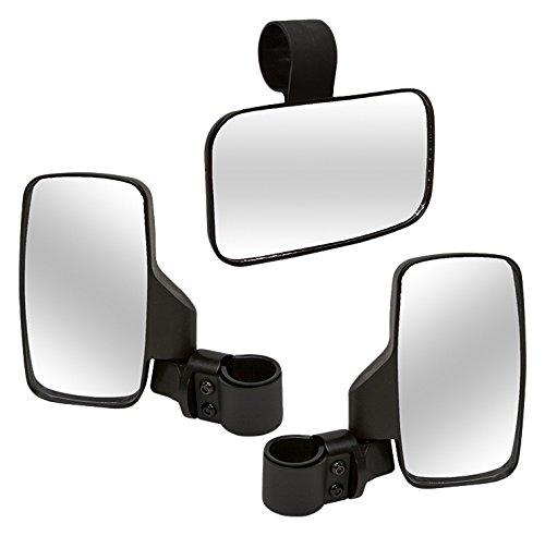 Kolpin UTV Universal SideRear Mirror Combo Package - 98312
