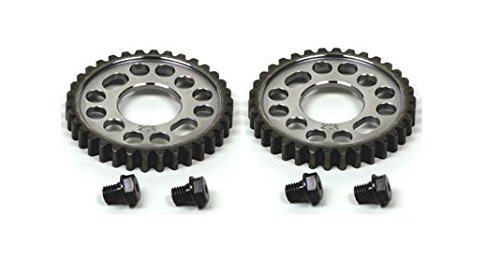 YEC Racing 2CR-12176-70 - Camshaft Sprocket Set for Yamaha R1 2 sprockets bolts