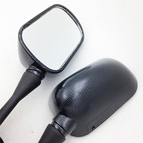 Motorcycle Oem Aftermarket Mirrors Fit For Honda Cbr 600 F4 F4I Cbr600Rr 1999-2006 Carbon NEW