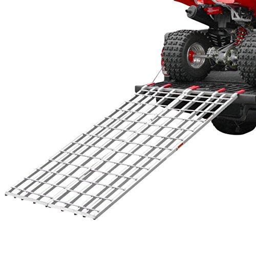 Rage Powersports IBF-7144 Aluminum Bi-Fold ATV Loading Ramp 71 x 44