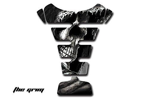 AMR Racing Universal Protective Vinyl Decal for Sport Bike Gas Tank - Grimm