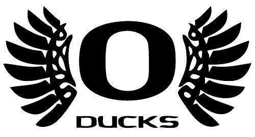 TDT Printing Custom Decals Oregon Ducks Vinyl Decal Sticker for Car or Truck Windows Laptops etc