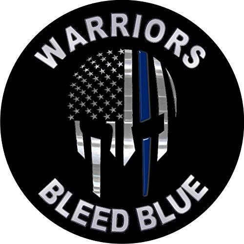 2pcs PUNISHER Molon Labe Spartan Thin Blue Line 4 - Powercall Emergency Sirens Window Graphics Car Sticker USA sticker decal