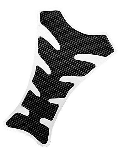 VITCIK Motorcycle Gas Protective Tank Pad Decal Sticker for Honda Suzuki Kawasaki Yamaha Grey