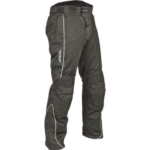 Fly Racing Coolpro Men's Mesh Street Bike Motorcycle Pants - Black / Size 30