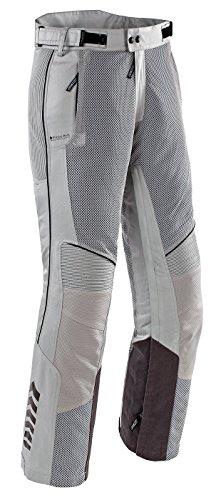 Joe Rocket Mens Phoenix Ion Mesh Motorcycle Pants Silver Regular Large