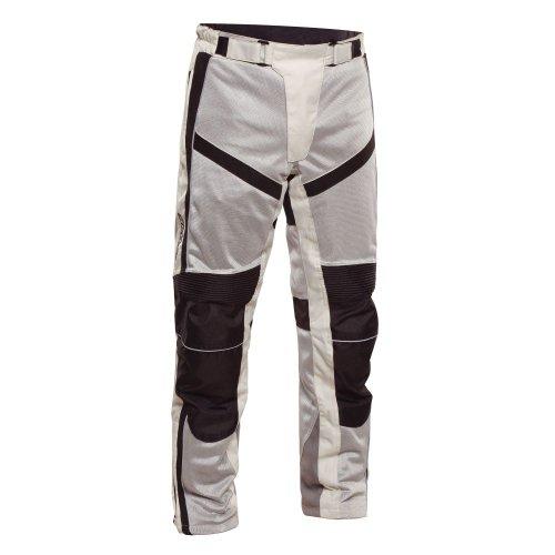 Sedici Arturo Mesh Motorcycle Pants - 36, Silver/gray