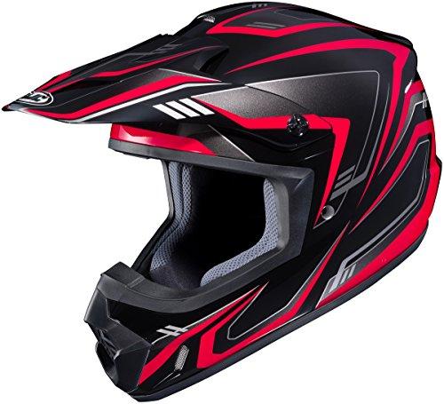 HJC CS-MX II Edge Mens Motocross Helmets - Red - X-Large