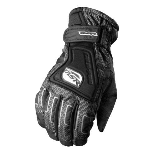 MSR Racing Cold Pro Mens Motocross Motorcycle Gloves - Black  Medium