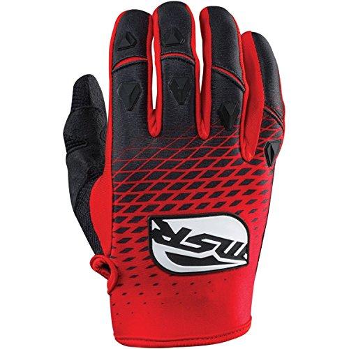 MSR Racing M15 NXT Mens Motocross Motorcycle Gloves - RedBlack  Medium
