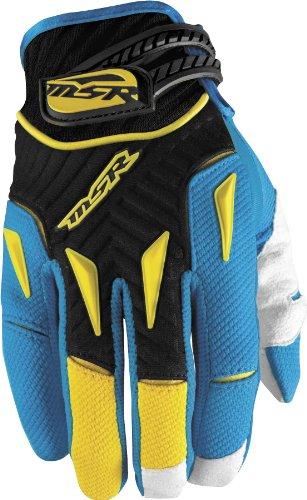 MSR Racing NXT Gloves - X-LargeCyanYellow