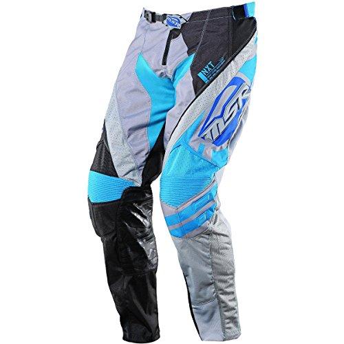 MSR Racing NXT Mission Mens MotoX Motorcycle Pants - BlackGray  Size 36