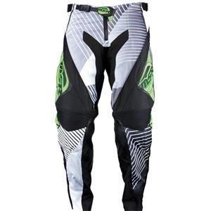 MSR Racing NXT Pulse Mens MotoX Motorcycle Pants - BlackGreen  Size 30