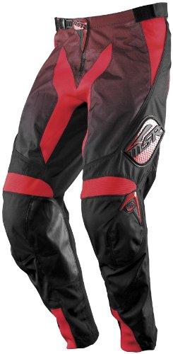 MSR Racing Renegade Mens Dirt Bike Motorcycle Pants - BlackRed  Size 28