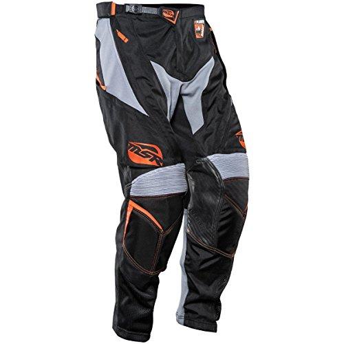 MSR Racing Xplorer Summit Mens Motocross Motorcycle Pants - BlackOrange  Size 34