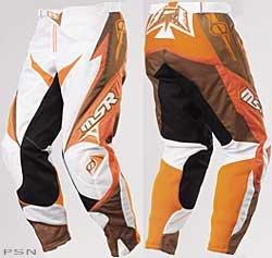 MSR Racing Youth Renegade Pants - 2009 - Youth 16OrangeBrown
