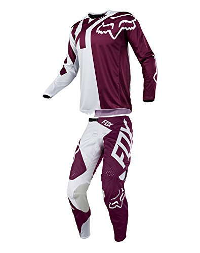 Fox Racing 2018 360 Preme Combo Jersey Pants Adult Mens MX ATV Offroad Dirtbike Motocross Riding Gear Purple