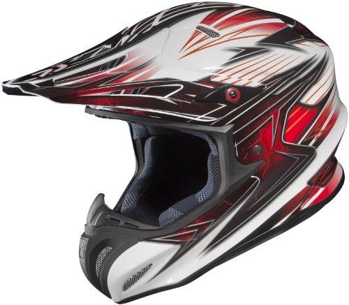 HJC Factor Mens RPHA-X MotocrossOff-RoadDirt Bike Motorcycle Helmet - MC-1  Medium