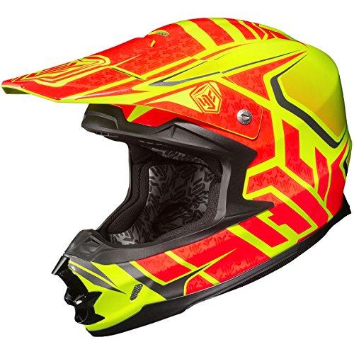 HJC Grand Duke Mens FG-X Off-RoadDirt Bike Motorcycle Helmet - MC-3H  Medium