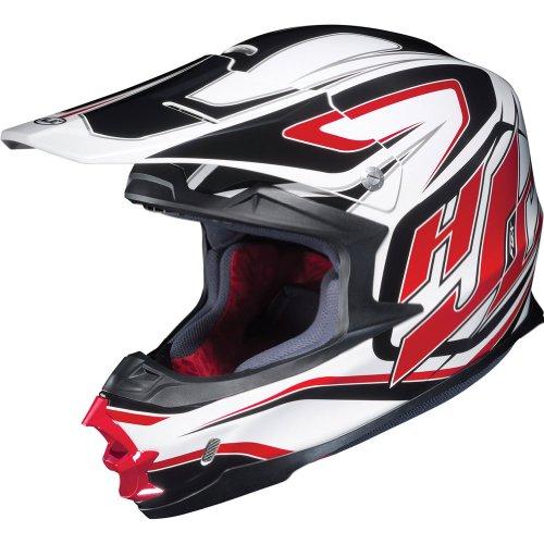 HJC Hammer Mens FG-X MXOff-RoadDirt Bike Motorcycle Helmet - MC-1  2X-Large