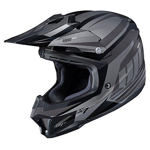 HJC Mens CL-X7 Bator Off-RoadDirt Bike Motorcycle Helmet - MC-5  Large