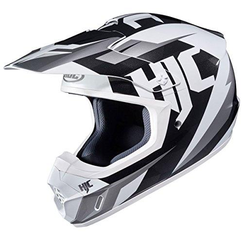 HJC Mens CS-MX 2 Dakota Off-RoadDirt Bike Motorcycle Helmet - MC-10  Large