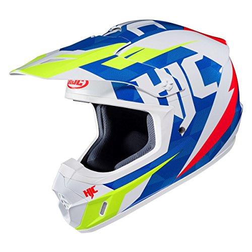 HJC Mens CS-MX 2 Dakota Off-RoadDirt Bike Motorcycle Helmet - MC-23  Large