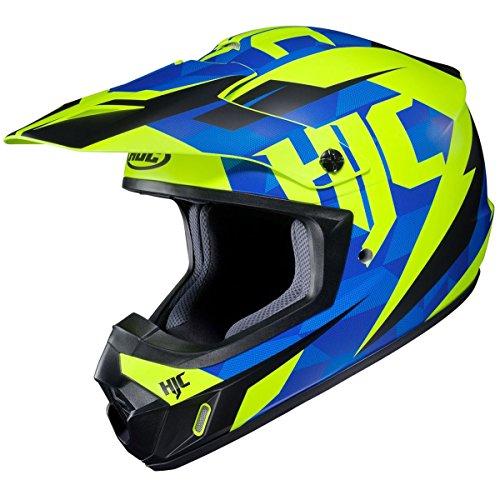 HJC Mens CS-MX 2 Dakota Off-RoadDirt Bike Motorcycle Helmet - MC-2SF  Large