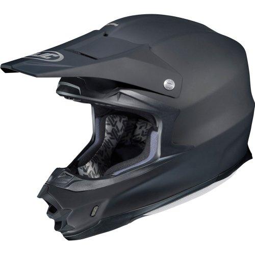 HJC Solid Mens FG-X Off-RoadDirt Bike Motorcycle Helmet - Matte Black  2X-Large