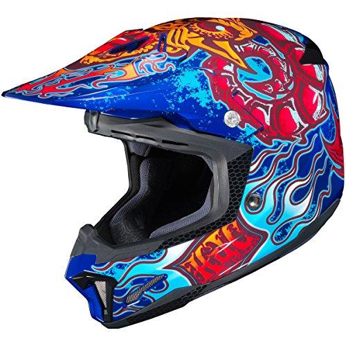 HJC Zilla Adult CL-X7 Dirt Bike Motorcycle Helmet - MC-2  X-Large
