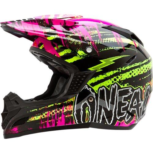 ONeal Racing 5 Series Mayhem Crypt Youth Boys Off-RoadDirt Bike Motorcycle Helmet - BlackNeon  X-Large