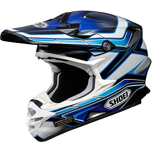 Shoei Capacitor VFX-W MXOff-RoadDirt Bike Motorcycle Helmet - TC-2  Large