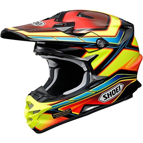 Shoei Capacitor VFX-W MXOff-RoadDirt Bike Motorcycle Helmet - TC-3  Large