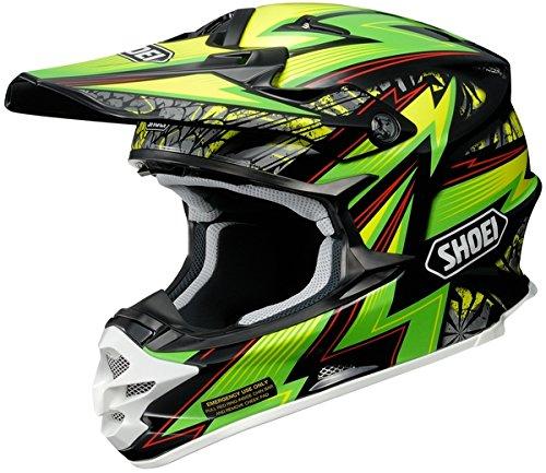 Shoei Maelstrom VFX-W MXOff-RoadDirt Bike Motorcycle Helmet - TC-4  Large