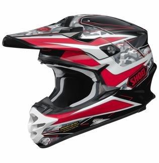 Shoei Turmoil VFX-W MXOff-RoadDirt Bike Motorcycle Helmet - TC-1  X-Large