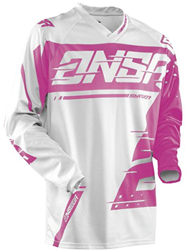 Answer Racing A18 Syncron Womens Off-Road Motorcycle Jerseys - GreyPink  Medium