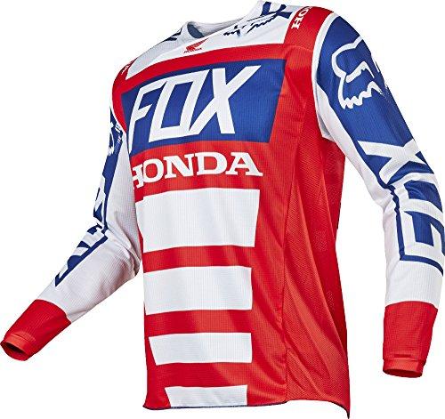Fox Racing 180 Honda Mens Off-Road Motorcycle Jerseys - RedWhite  Large