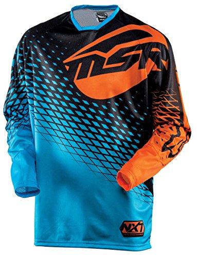 MSR Racing M15 NXT Mens MotoX Motorcycle Jersey - BlueOrange  X-Large