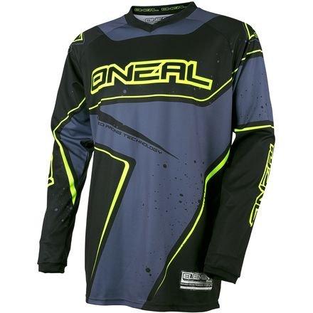 ONeal Racing Element Racewear Mens Dirt Bike Motorcycle Jersey - BlueYellow  Medium