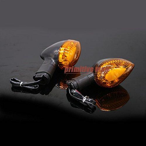 Amber Motorcycle Blinker LED Turn Signal Indicator Light Amber For YAMAHA V-max 1700 2009-2015