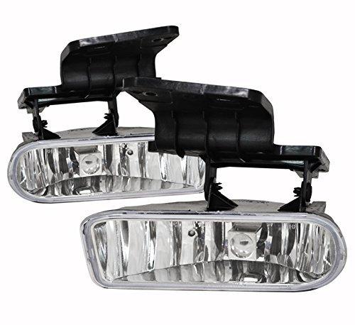 AVEC AV-Sil99 Products Chevy Tahoe OEM Fog Lights Clear Lens Pair