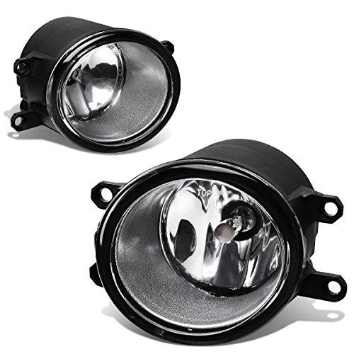 Toyota YarisRAV4Camry Pair of Bumper Driving Fog Lights Clear Lens