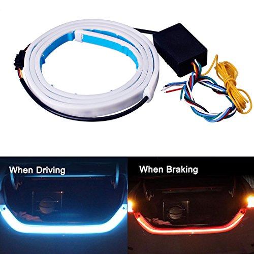 Tail Light JAYEJA 5 Function Car Trunk Brake Turn Light Lamp 5050 Led Running Signal Light Car Warning Light