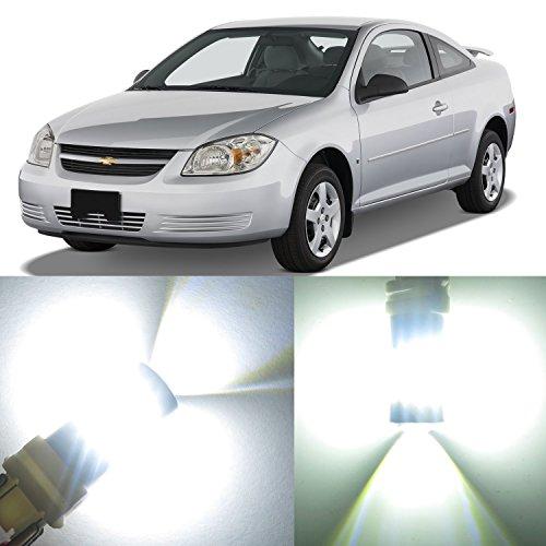 Alla Lighting 2x Super Bright 3157KX 3057KX 3457NAK White LED Bulbs for Front Rear Turn Signal Blinker Brake Stop Tail Lights Lamps Replacement for 2005 2006 2007 2008 2009 2010 Chevrolet Chevy Cobalt