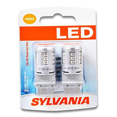 Sylvania SYLED - Rear Turn Signal Light Bulb - 1999-2015 Toyota Camry Corolla Solara Tacoma Tundra