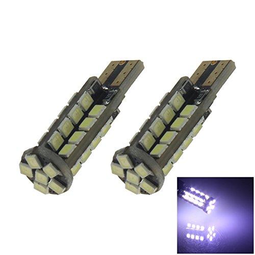 ZHANSHENZHEN White Auto Turn Signal Light Wedge Lamp 38 Emitters 2835 SMD LED DC 12V 2921 2825 12256 Z20244 Pack of 2